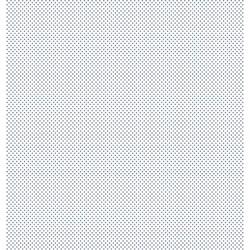 Folha Dupla Face Scrapbooking SD-188 Poá FD Azul e Branco
