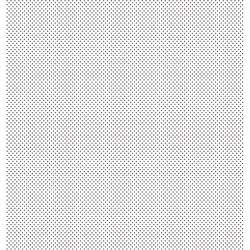 Folha Dupla Face Scrapbooking SD-194 Poá Preto e Branco