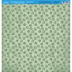 Folha Dupla Face Scrapbooking SD-241 Folhas