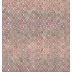 Folha Dupla Face Scrapbooking SD-720 Vintage estampa Rosas