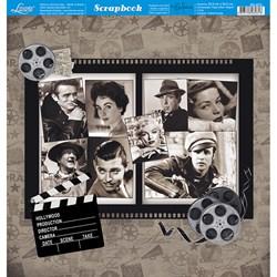 Folha dupla face Scrapbooking SD-873 Estrelas de Cinema