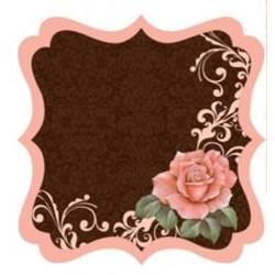 Folha Scrapbook Estilizada 11918(SDF224) Rosas e Botões