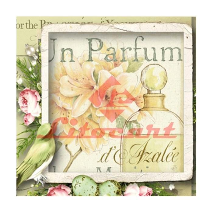 Folha Simples Scrap Decor Litocart LSCXV-09 Parfum
