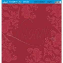 Folha Simples Scrapbook SS-008 Arabesco Renda
