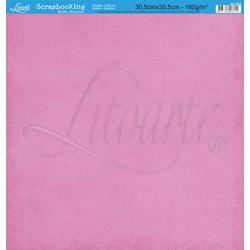 Folha Simples Scrapbook SS-044 Rosa