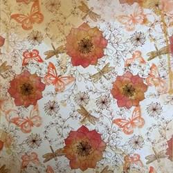 Folhas para Scrap Importado SIP-08 Flores