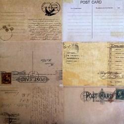 Folhas para Scrap Importado SIP-12 Post Card