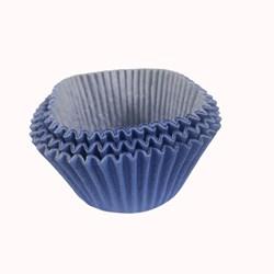 Forma de Cupcake C/45 Unidades  - Azul Royal