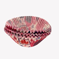 Forma para Cupcake C/45 Unidades - Coração