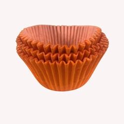 Forma para Cupcake C/ 45 Unidades  - Laranja