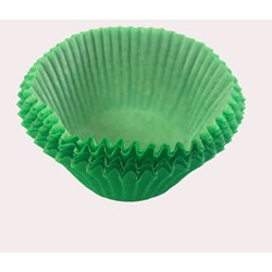 Forma para Cupcake C/45 Unidades  - Verde