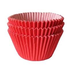 Forma para Cupcake C/ 45 Unidades  - Vermelho