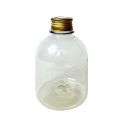 Frasco Pet para Aromatizador 250mL 018731 Tampa Metal Dourada