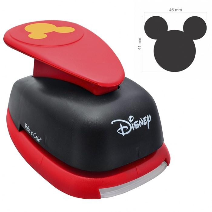 Furador Extra Gigante Disney 41x46mm (19531) Cabeça Mickey Mouse