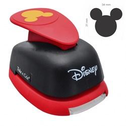 Furador Gigante Disney 31x34mm (19526) Cabeça Mickey Mouse