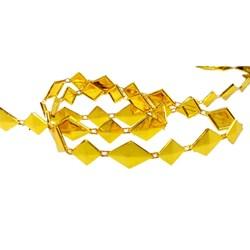 Galão Fantasia Dourado GL-009 - com 1 metro