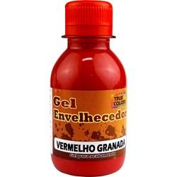 Gel Envelhecedor True Colors 100mL Vermelho Granada