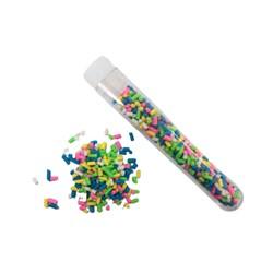 Granulado para Shaker Box Colorido - Tubete com 3,5 Gramas