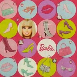 Guardanapo Barbie 33x33cm GDI-14 - com 1 unidade