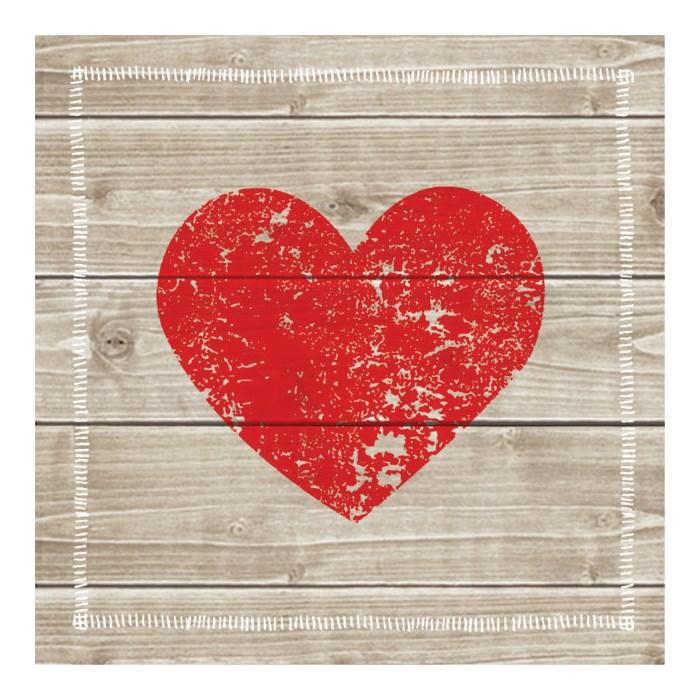 Guardanapo GD-109 (1331966) Heart of Wood - com 1 unidade