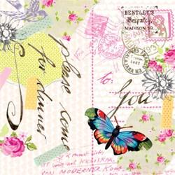 Guardanapo GD-128 (1331539) Love Letter - com 1 unidade