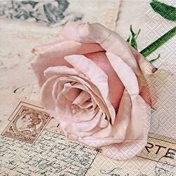 Guardanapo GD-175 (21704) Postcard Rose - com 1 unidade