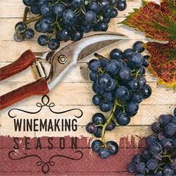 Guardanapo GD-199 (200199) Winemaking Season - com 1 unidade