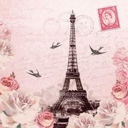 Guardanapo GD-294 (13311380) Carta para Paris - com 1 unidade