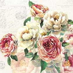 Guardanapo GD-324 (13308530) Flores Elisabeth - com 1 unidade