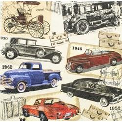 Guardanapo GD-35 (17711) Carros Vintage - 1 unidade