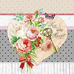 Guardanapo GD-353 (75143) Amor em Flores - com 1 unidade