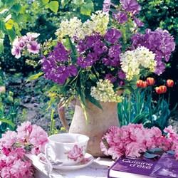 Guardanapo GD-356 (74427) Mesa Floral de Chá - com 1 unidade