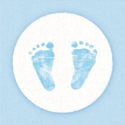 Guardanapo GD-98 (13309420) Baby Steps Boy - com 1 unidade