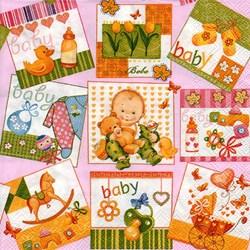 Guardanapo GDF-169 (SLOG 012202) Baby Pink - com 1 unidade