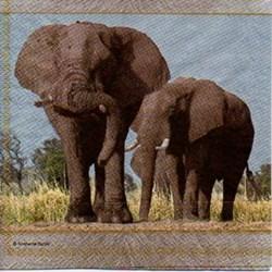 Guardanapo GDF-275 (13306430) Elephants - com 1 unidade