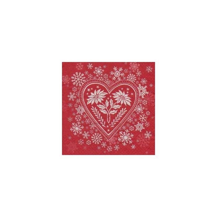 Guardanapo GDN-02 (1110-11509) Natal love II - com 1 unidade