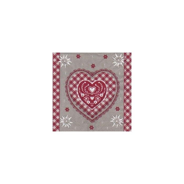 Guardanapo GDN-03 (1108-12552) Natal Love I - com 1 unidade