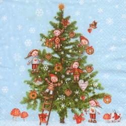 Guardanapo GDN-11 (1110-11503) Árvore de Natal - com 1 unidade