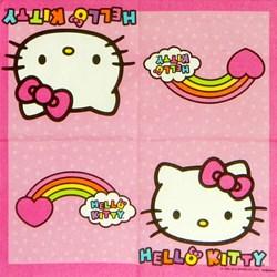 Guardanapo Hello kitty 24,5x24,5cm GDI-07 - com 1 unidade