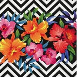 Guardanapo para Decoupage Arte Fácil GU-017 Flores Tropicais