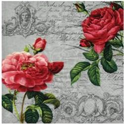 Guardanapo para Decoupage Arte Fácil GU-024 Rosas Classicas