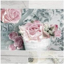 Guardanapo para Decoupage Arte Fácil GU-026 Rosas Vintage de Paris