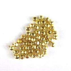 Guizo Dourado 6mm GZ01 - 50 unidades
