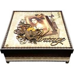 Kit Caixa Dama Vintage KIT001