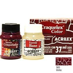 Kit Craquelex Color Acrilex 37mL - 565 Vinho