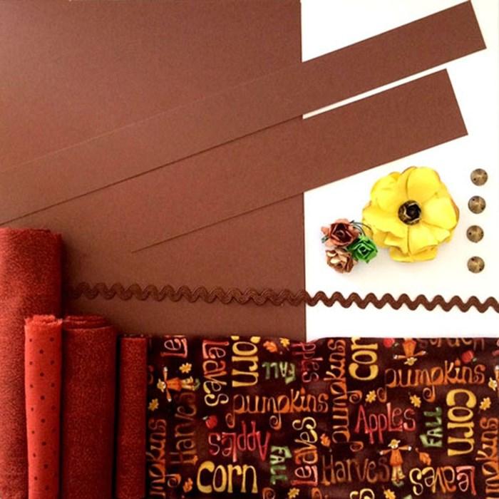 Kit Decorativo Caderno Receitas 03 KD003