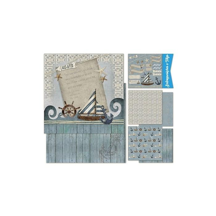 Kit Scrap Decor Vintage KSD-002 Marina