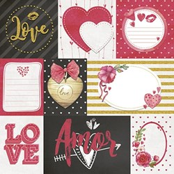 Kit Scrap Decor Vintage KSD-007 Valentine1s Day