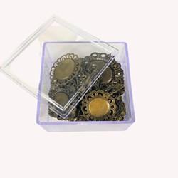 Kit Tags de Metal Sortidas com 40 unidades