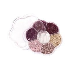 Kit Vidrilhos Grape Colors - Caixa Flor com 70g